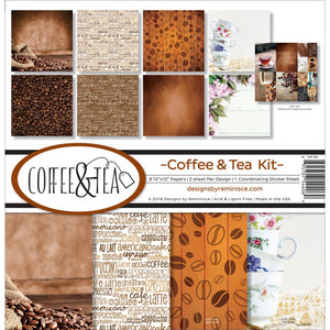 "REMINISCE 12""X12"" COLLECTION PACK COFFEE & TEA (CLEARANCE)"