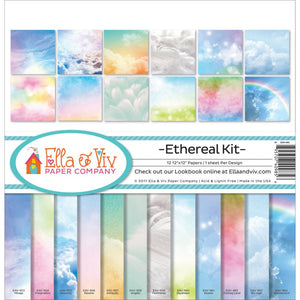 "ELLA & VIV 12X12"" PAPER PACK ETHEREAL (HAS TO BE ORDERED)"