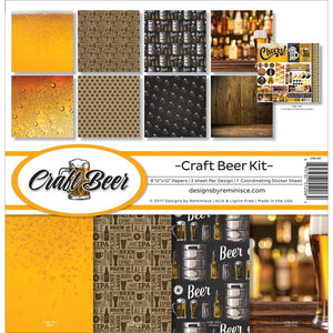 "REMINISCE 12""X12"" COLLECTION PACK CRAFT BEER (HAS TO BE ORDERED)"