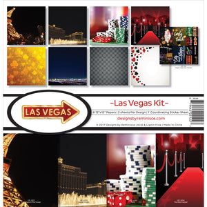 "REMINISCE 12""X12"" COLLECTION PACK LAS VEGAS (IN STOCK)"
