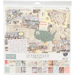 "AUTHENTIQUE 12""X12"" COLLECTION PACK PASTIME (CLEARANCE)"