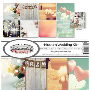 "REMINISCE 12""X12"" COLLECTION PACK MODERN WEDDING (HAS TO BE ORDERED)"