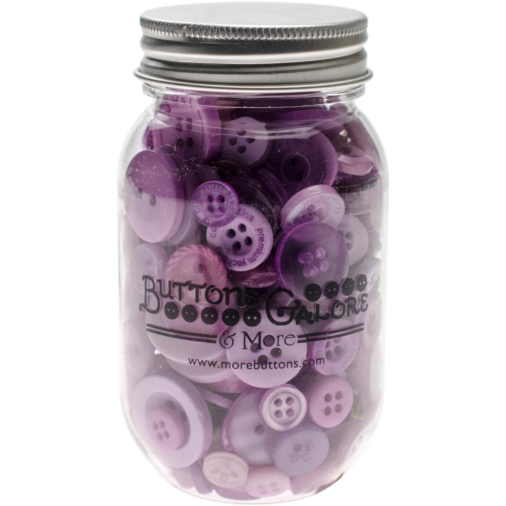 BUTTONS GALORE BUTTON MASON JARS SOUR GRAPES (HAS TO BE ORDERED)