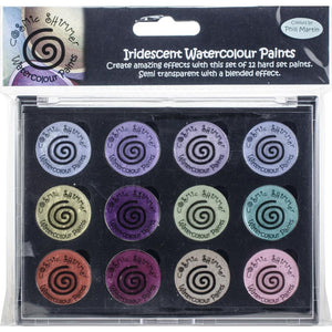 CREATIVE EXPRESSIONS COSMIC SHIMMER IRIDESCENT WATERCOLOR PALETTE FROSTED & CHIC  (HAS TO BE ORDERED)