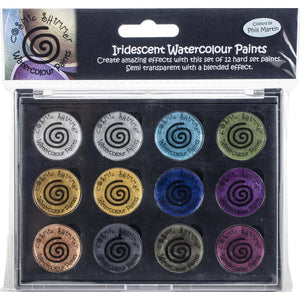 CREATIVE EXPRESSIONS COSMIC SHIMMER IRIDESCENT WATERCOLOR PALETTE DECADENT & PRECIOUS METALS (HAS TO BE ORDERED)