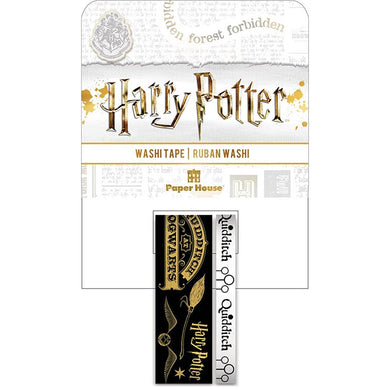 PAPER HOUSE WASHI TAPE HARRY POTTER QUIDDITCH (IN STOCK)