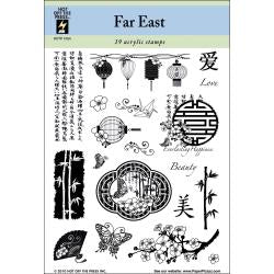 HOT OFF THE PRESS CLEAR STAMPS FAR EAST (CLEARANCE)