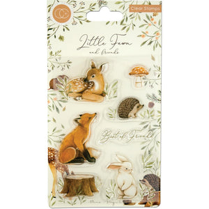 CRAFT CONSORTIUM LITTLE FAWN CLEAR STAMPS (IN STOCK)