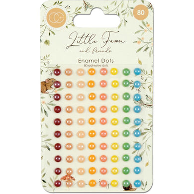 CRAFT CONSORTIUM LITTLE FAWN ENAMEL DOTS (HAS TO BE ORDERED)