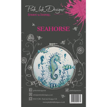 Load image into Gallery viewer, CREATIVE EXPRESSIONS CLEAR STAMPS A5 PINK INK DESIGNS SEAHORSE (HAS TO BE ORDERED)