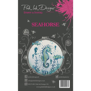 CREATIVE EXPRESSIONS CLEAR STAMPS A5 PINK INK DESIGNS SEAHORSE (HAS TO BE ORDERED)