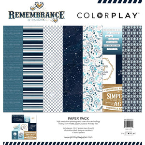 "COLOR PLAY REMEMBRANCE 12""X12"" COLLECTION PACK (HAS TO BE ORDERED)"