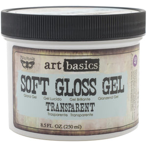 PRIMA FINNABAIR ART BASICS SOFT GLOSS GEL TRANSPARENT 8.5 OZ (HAS TO BE ORDERED)
