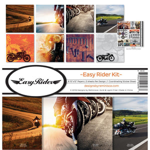 "REMINISCE 12""X12"" COLLECTION PACK EASY RIDER (HAS TO BE ORDERED)"