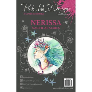 CREATIVE EXPRESSIONS CLEAR STAMPS A5 PINK INK DESIGNS NERISSA (HAS TO BE ORDERED)