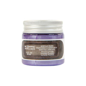 PRIMA ACRYLIC PAINT METALLIQUE FRENCH LAVENDER (HAS TO BE ORDERED)