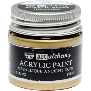 PRIMA ACRYLIC PAINT METALLIQUE ANCIENT COIN (HAS TO BE ORDERED)