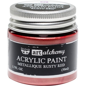 PRIMA ACRYLIC PAINT METALLIQUE RUSTY RED (HAS TO BE ORDERED)