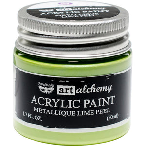 PRIMA ACRYLIC PAINT METALLIQUE LIME PEEL (HAS TO BE ORDERED)