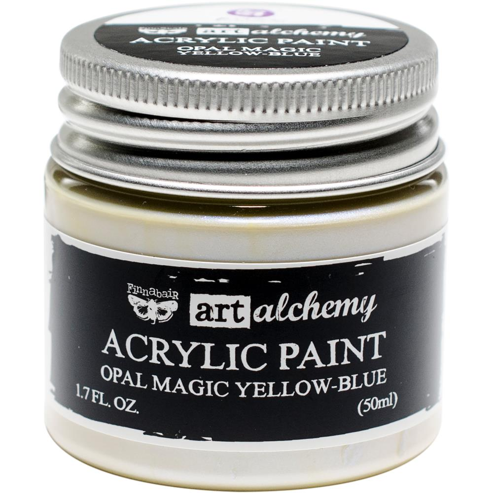 PRIMA ACRYLIC PAINT OPAL MAGIC YELLOW/BLUE (HAS TO BE ORDERED)