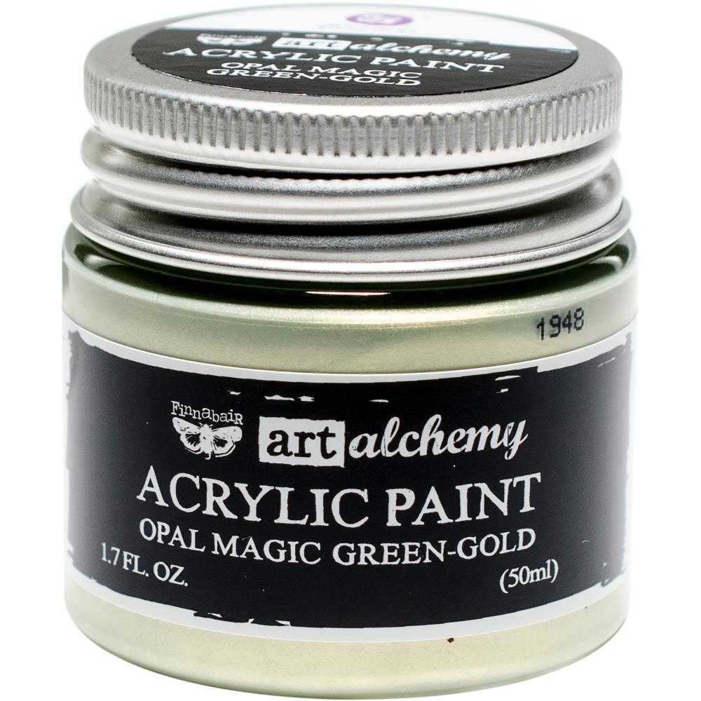 PRIMA ACRYLIC PAINT OPAL MAGIC GREEN/GOLD (HAS TO BE ORDERED)