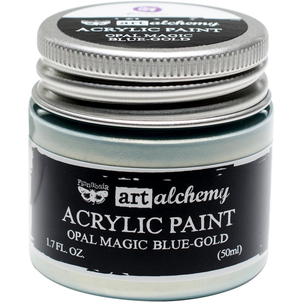 PRIMA ACRYLIC PAINT OPAL MAGIC BLUE/GOLD (HAS TO BE ORDERED)