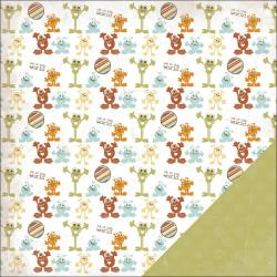 BLOW OUT CLEARANCE ONLY WHILE SUPPLIES LAST (1) 12X12 SCRAPBOOK THREE BUGS IN A RUG