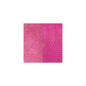 "BO BUNNY (1) SHEET DOUBLE DOT VINTAGE 12""X12"" CARDSTOCK PINK PUNCH (IN STOCK)"