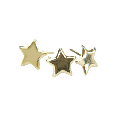 CREATIVE IMPRESSIONS BRADS GOLD STARS (IN STOCK)