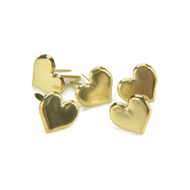 CREATIVE IMPRESSIONS BRADS GOLD HEARTS (HAS TO BE ORDERED)
