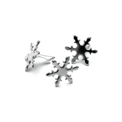 CREATIVE IMPRESSIONS BRADS SILVER SNOWFLAKES (HAS TO BE ORDERED)