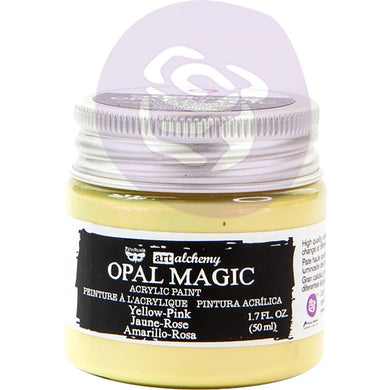 PRIMA ACRYLIC PAINT OPAL MAGIC YELLOW/PINK (IN STOCK)