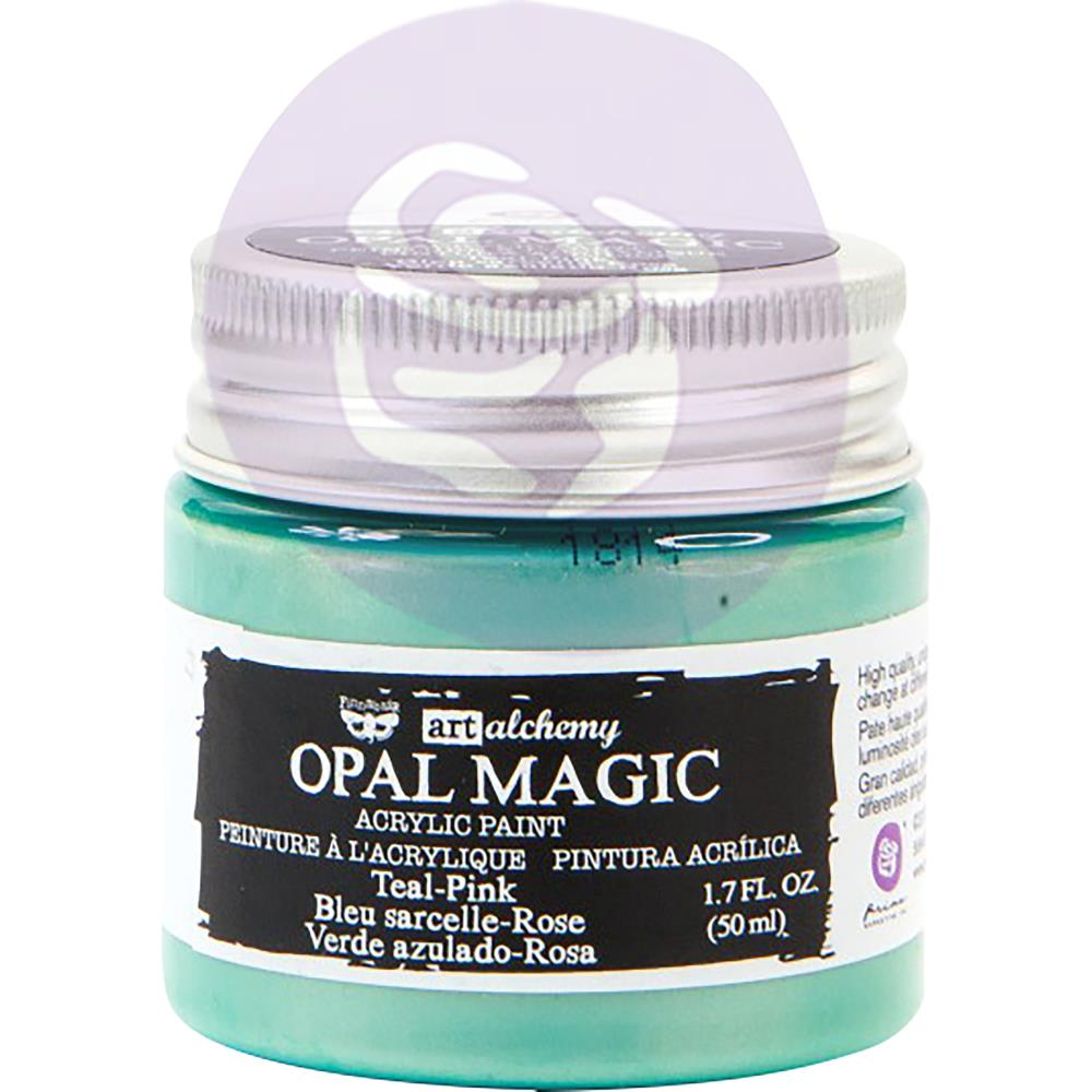 PRIMA ACRYLIC PAINT OPAL MAGIC TEAL/PINK (HAS TO BE ORDERED)