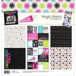 "SIMPLE STORIES CHEER 12""X12"" MINI COLLECTION PACK (CLEARANCE)"