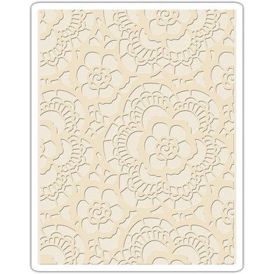 TIM HOLTZ EMBOSSING FOLDER LACE (HAS TO BE ORDERED)