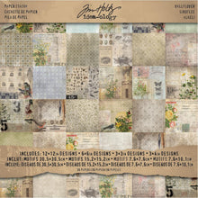 "Load image into Gallery viewer, TIM HOLTZ IDEA-OLOGY PAPER STASH WALLFLOWER 12""X12"" (HAS TO BE ORDERED)"