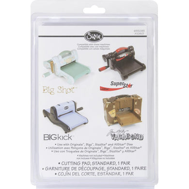 SIZZIX REPLACEMENT CUTTING PADS 1 PAIR (HAS TO BE ORDERED)