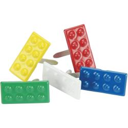 EYELET OUTLET BRADS LEGO BUILDING BLOCKS (HAS TO BE ORDERED)