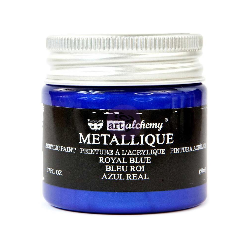 PRIMA ACRYLIC PAINT METALLIQUE ROYAL BLUE (HAS TO BE ORDERED)
