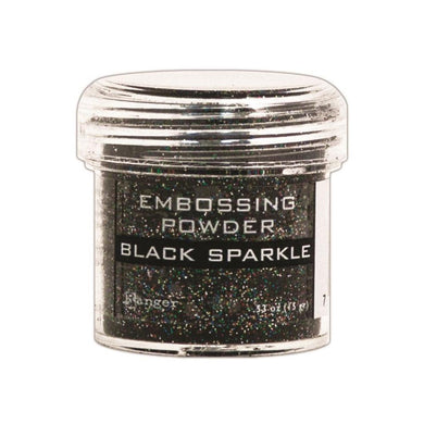 RANGER EMBOSSING POWDER BLACK SPARKLE (HAS TO BE ORDERED)