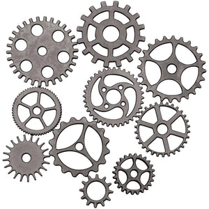 TIM HOLTZ IDEA-OLOGY METAL ASSEMBLAGE LINKS GEARS COGS 10 PIECES (HAS TO BE ORDERED)