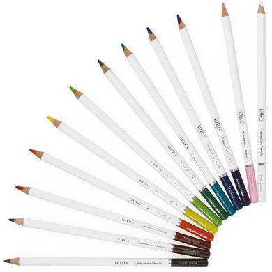 NUVO WATERCOLOR PENCILS 12 PACK BRILLIANTLY VIBRANT (HAS TO BE ORDERED)