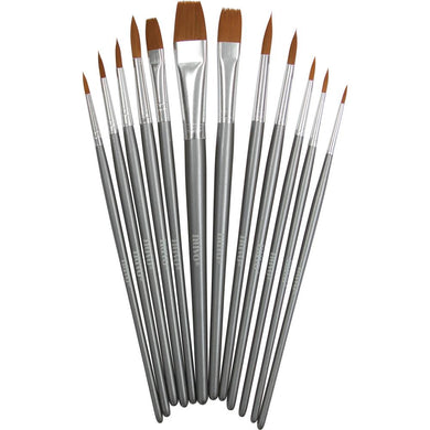 NUVO PAINT BRUSHES 12 PACK (HAS TO BE ORDERED)