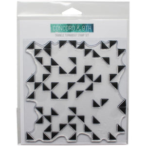 "CONCORD & 9TH 6""X6"" TURNABOUT STAMP TRIANGLE (HAS TO BE ORDERED)"