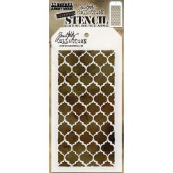 TIM HOLTZ STAMPERS ANONYMOUS LAYERING STENCIL