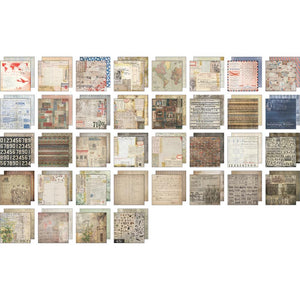 "TIM HOLTZ IDEA-OLOGY PAPER STASH ETCETERA 8""X8"" (HAS TO BE ORDERED)"
