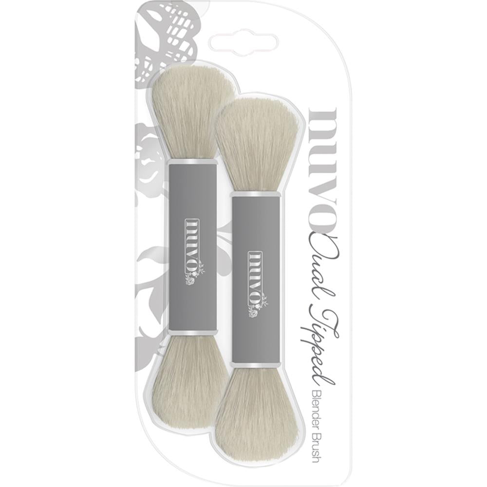 NUVO DUAL ENDED BLENDER BRUSH 2 PACK (HAS TO BE ORDERED)