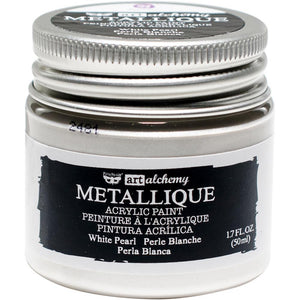 PRIMA ACRYLIC PAINT METALLIQUE WHITE PEARL (HAS TO BE ORDERED)
