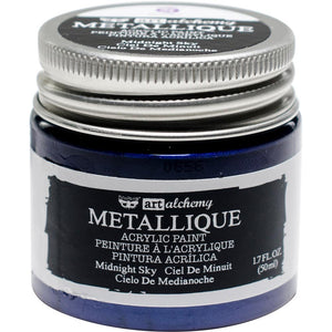 PRIMA ACRYLIC PAINT METALLIQUE MIDNIGHT SKY (HAS TO BE ORDERED)