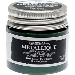 PRIMA ACRYLIC PAINT METALLIQUE DARK FOREST (IN STOCK)